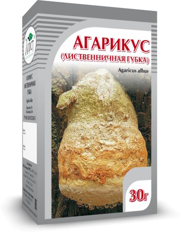 Агарикус, лиственничная губка, 30 г