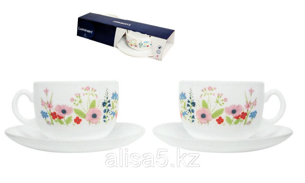 Rose pompon Чайные пары 220 мл,2 шт в уп.