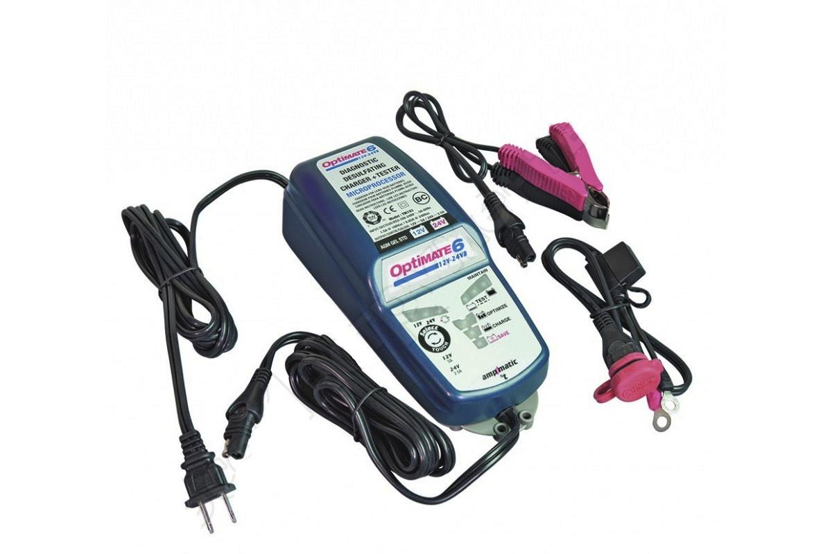 Зарядное устройство Optimate 6 TM194 (12/24V, 1x5/2.5A)