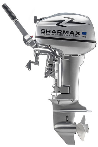2х-тактный лодочный мотор Sharmax SM9.9HS, фото 2