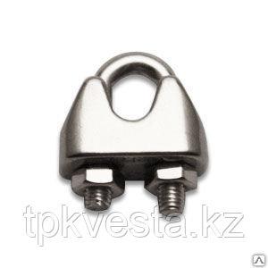 Зажим винтовой канатный DIN 741 диаметр каната 22 мм