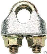 Зажимы винтовые канатные DIN 1142 диаметр каната 13 мм