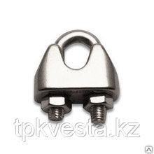Зажим винтовой канатный DIN 741 диаметр каната 6 мм