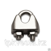 Зажим винтовой канатный DIN 741 диаметр каната 8 мм