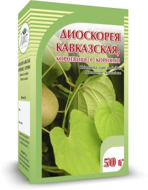 Диоскорея кавказская, корни, 50 г
