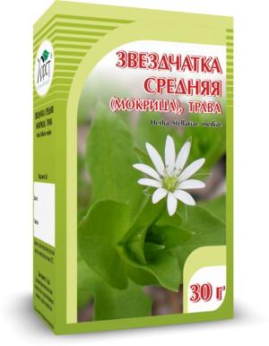Звездчатка (мокрица), цветки, 30 г