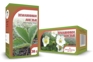 Земляника, листья, 30 г