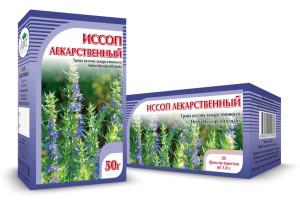Иссоп лекарственный, трава, 50 г