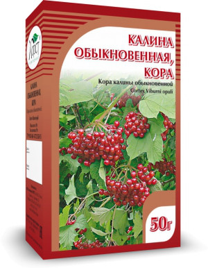 Калина, кора, 50 г