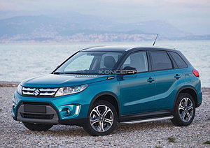 "Порог-площадка ""Premium"" Suzuki Vitara 2015-"