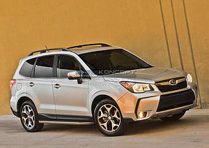 "Порог-площадка ""Premium"" Subaru Forester 2016-"