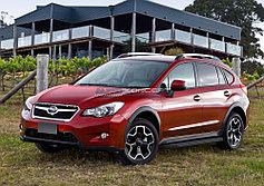 Пороги, подножки Subaru XV 2011-2016