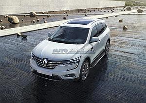 "Порог-площадка ""Premium"" Renault Koleos 2016-"
