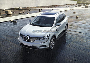 "Порог-площадка ""Black"" Renault Koleos 2016-"