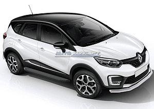"Порог-площадка ""Black"" Renault Kaptur 2016-"