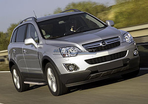 "Порог-площадка ""Premium"" Opel Antara 2010-2015"
