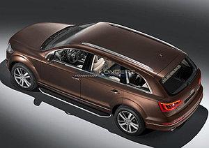 "Порог-площадка ""Premium"" Audi Q7 2009-2015"