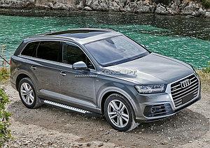 """Порог-площадка """"Bmw-Style"""" Audi Q7 2015-"""
