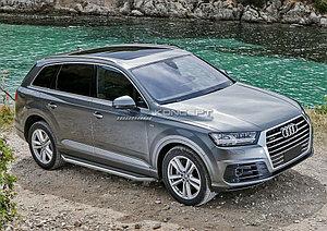 "Порог-площадка ""Premium"" Audi Q7 2015-"