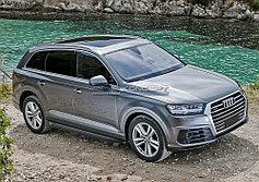 Пороги, подножки Audi Q7 2015-