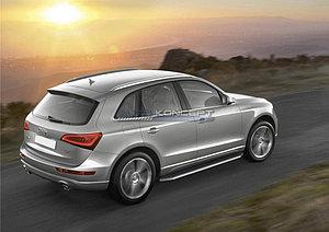 "Порог-площадка ""Premium"" Audi Q5 2012-2017"