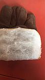 Перчатки комбинированные Спилковые утеплённые, фото 3