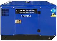 Дизельный генератор в Атырау 11 квт HYUNDAI DHY12000S