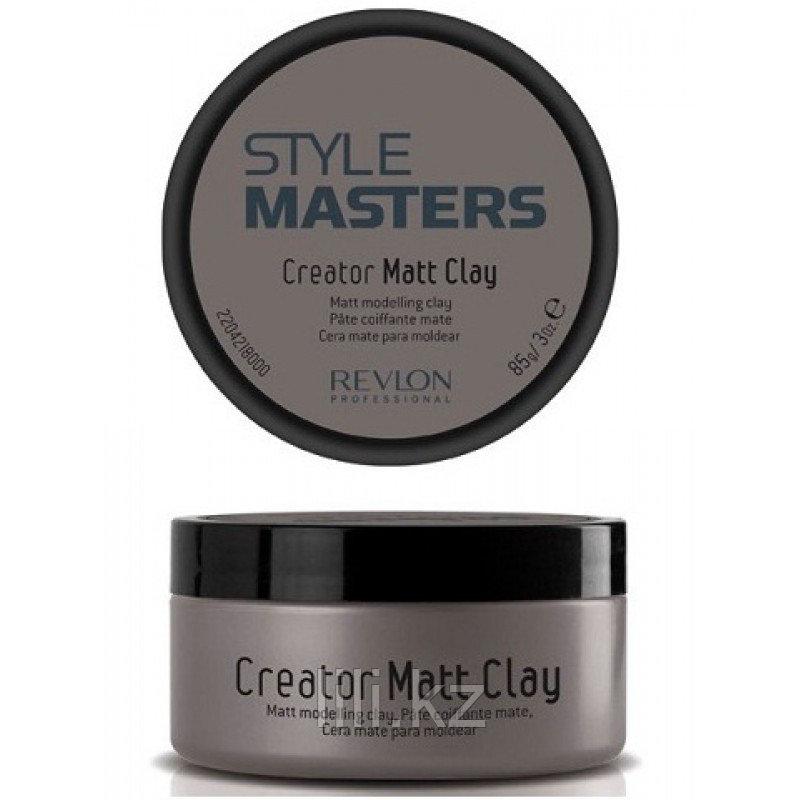 Глина матирующая и формирующая Revlon Creator Matt Clay 85 мл.