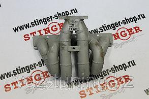 """Турбоколлектор """" Stinger sport """" 16 кл. Т3/Т4 толстостенный, верхнее расположение"""