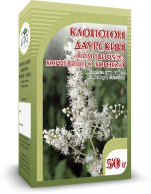 Клопогон даурский (цимицифуга), корневища с корнями, 50 г