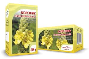 Коровяк скипетровидный, цветки, 50 г