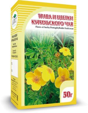 Курильский чай, трава и цветки, 50 г
