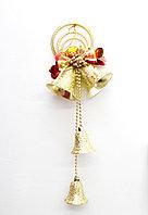 Гирлянда-колокольчик, золото, 45 см, фото 1