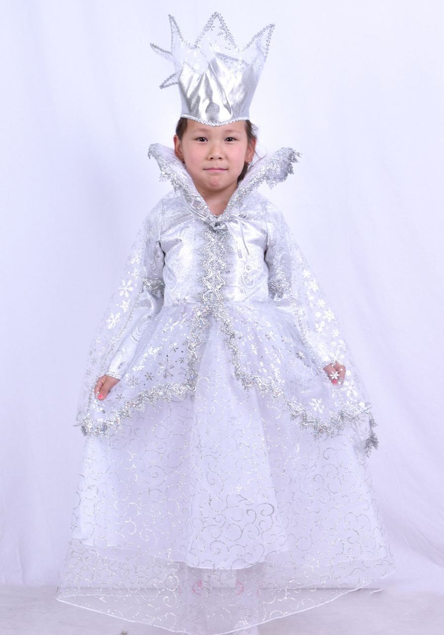 Костюм Снежная королева детский - фото 1
