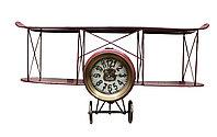 "Часы настенные, ""Аэроплан"", 64*32 см"