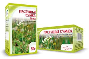 Пастушья сумка, трава, 50 г