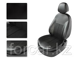 Чехлы модельные NISSAN X TRAIL T32 2015 черный/черный/черный