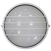 Светильник НПБ 1106 белый круг сетка (ИЭК)