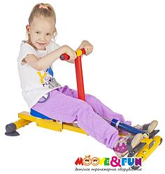 Тренажер детский механический гребной с одной рукояткой