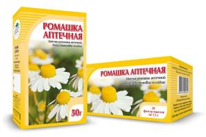 Ромашка аптечная, цветки, 20 ф/п