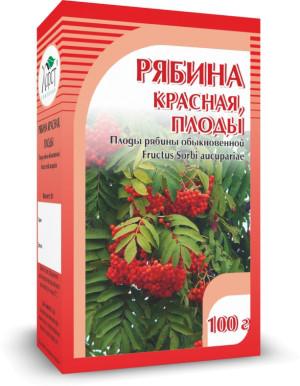 Рябина красная, плоды, 100 г