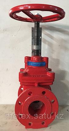 Задвижка Ду100 для систем пожаротушения  без концевого выключателя, фото 2