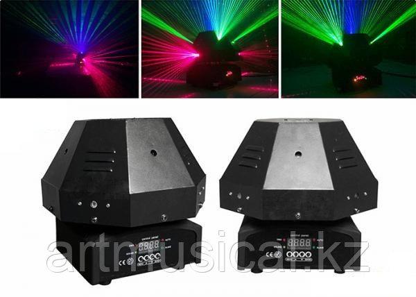 Лучевой лазер  9 Eyes RGB Mushroom Laser