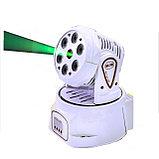 Голова Wash 6x10 W RGBW 4IN1 + Green laser, фото 2