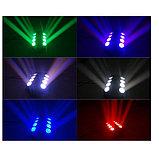 Светодиодный cветовой эффект паук Daus Led Spider 8 eyes (4in1), фото 2