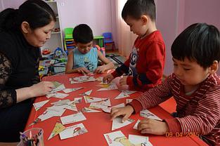 Подготовка к школе на казахском языке обучения