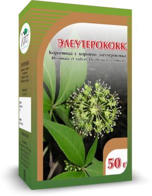 Элеутерококк, корневища и корни, 40 г