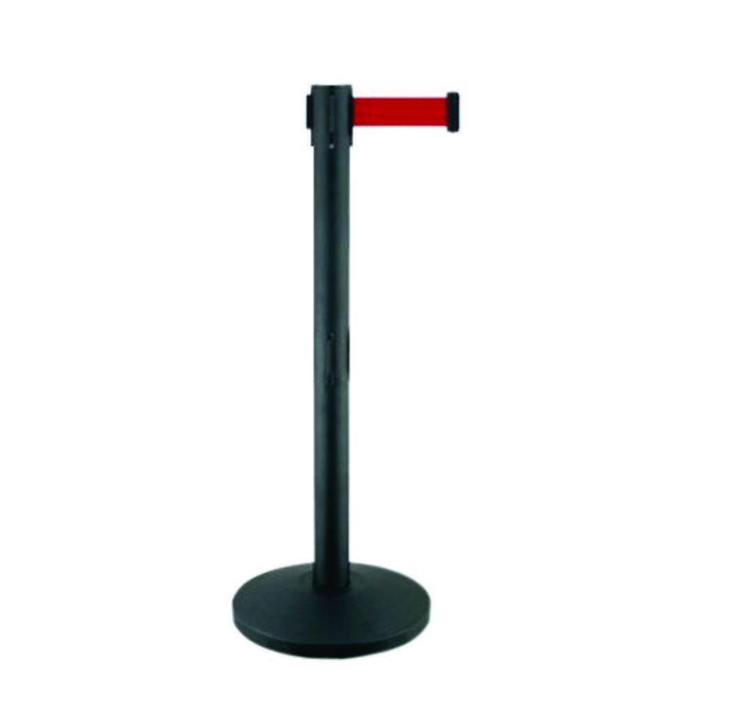 Парфлекс ленточный барьер (черный)
