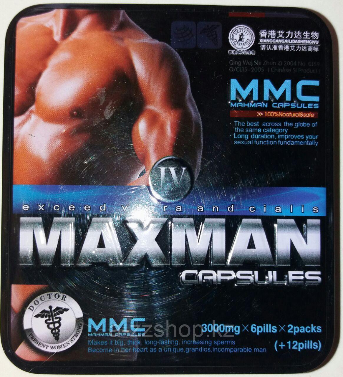 MAXMAN IV -12+(12) капсул