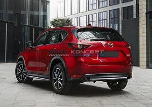 Защита заднего бампера d42 Mazda CX-5 2017-
